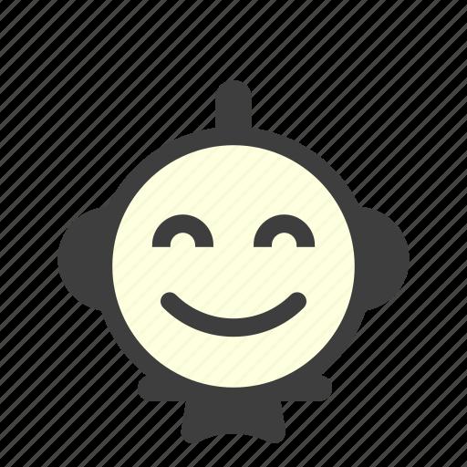 emoji, emoticon, happy, laughing, lol, rating, smile icon