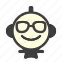 emoji, emoticon, happy, laughing, lol, rating, smile icon