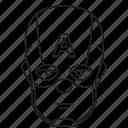 avengers, captain america, infinity wars, steve roger icon