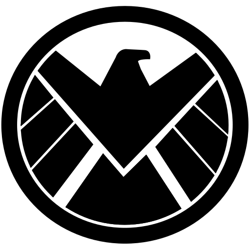 avangers, eagle, marvel, shield icon