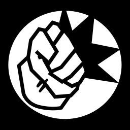 avangers, fist, hulk, marvel, smash icon