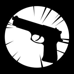 avangers, black widow, marvel, weapon icon
