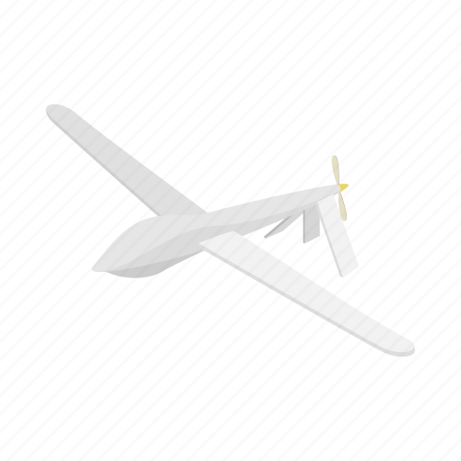 air, airplane, cartoon, glider, gliding, sky, sport icon