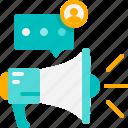 communication, marketing, megaphone, message, promotion