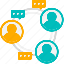 communication, networking, connection, teamwork, discussion