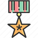 achievement, award, celebration, honor, medal, success, winner