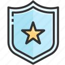 achievement, award, business, certificate, reward, success, winner icon