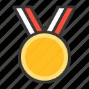award, badge, champion, medal, sign, winner