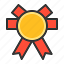 award, badge, champion, medal, sign, winner icon