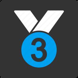 bronze, medal icon
