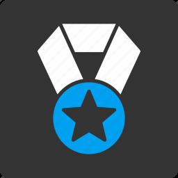 champion, medal icon