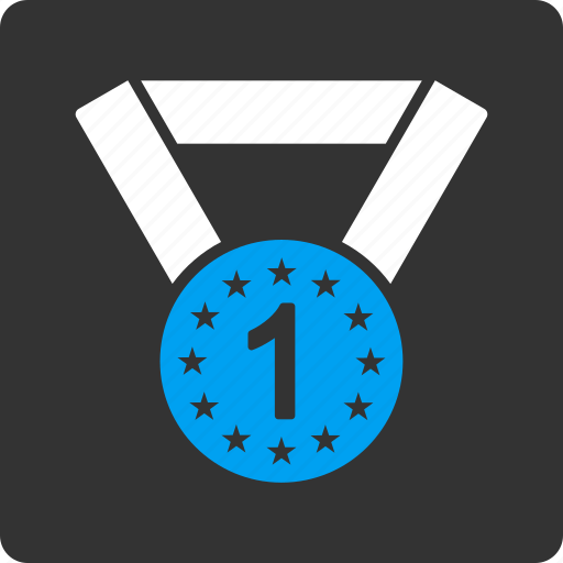first, medal icon
