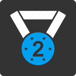 medal, second icon
