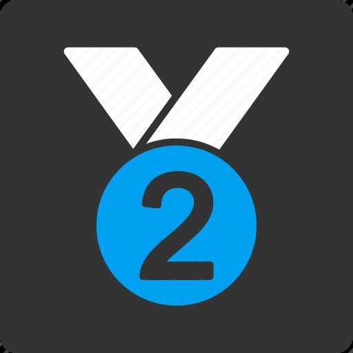 medal, silver icon