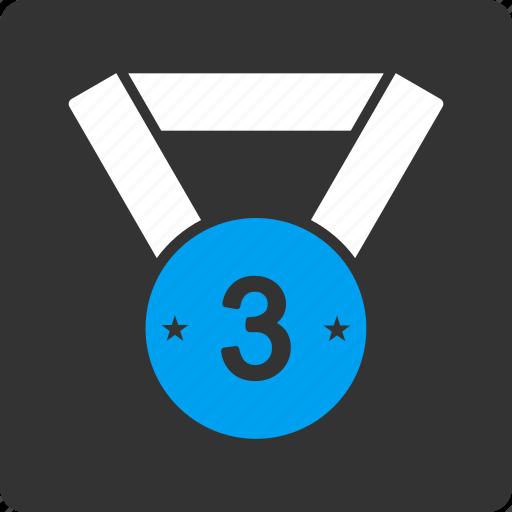 medal, third icon