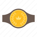 award, belt, champion, trophy, winner icon
