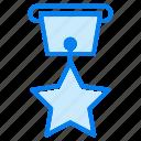 medal, achievement, award, badge, star