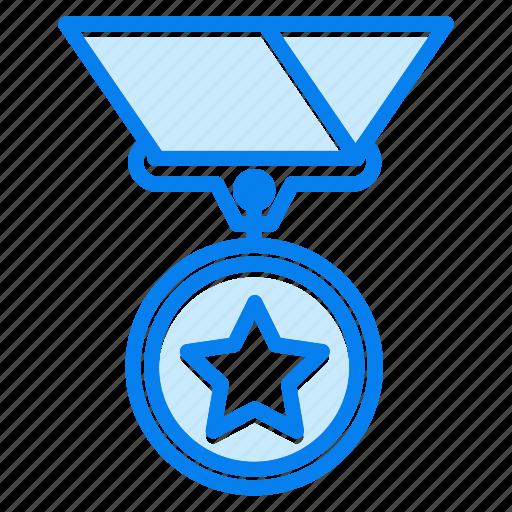 achievement, badge, medal, prize, winner icon