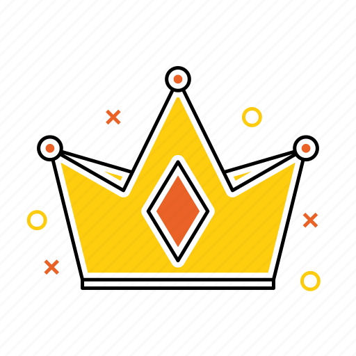 crown, king, luxury, princess, queen, royal icon