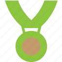 achievement, award, best, bronze, gold, medal, prize, silver, star, win, winner icon
