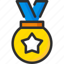 award, first, medal, place, star, trophy, win