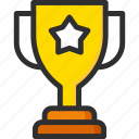 award, cup, gold, star, trophy, willner, win icon