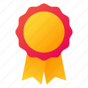 award, badge, prize, ribbon icon