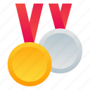 competition, first place, medals, winners icon