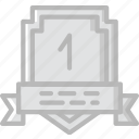 award, place, prize, trophy, winner icon