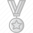 award, medal, prize, stard, trophy, winner icon