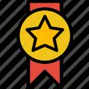 award, prize, star, trophy, winner icon