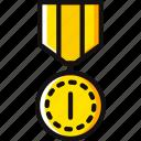 trophy, winner, place, prize, award icon