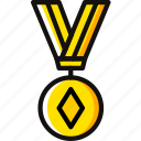 award, medal, poker, prize, trophy, winner icon