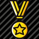 award, medal, prize, stard, trophy, winner icon