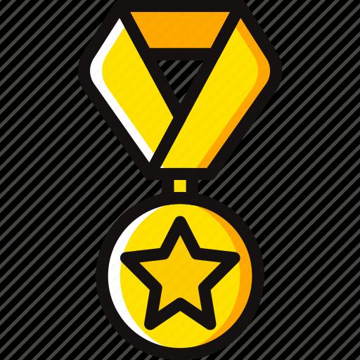 award, medal, prize, star, trophy, winner icon