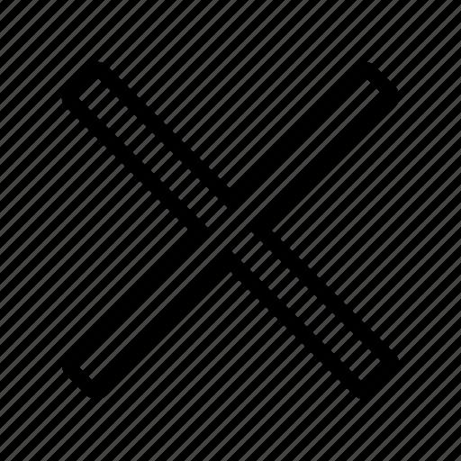 Cross, mark, pirate, pirates, spot, treasure, x icon ...