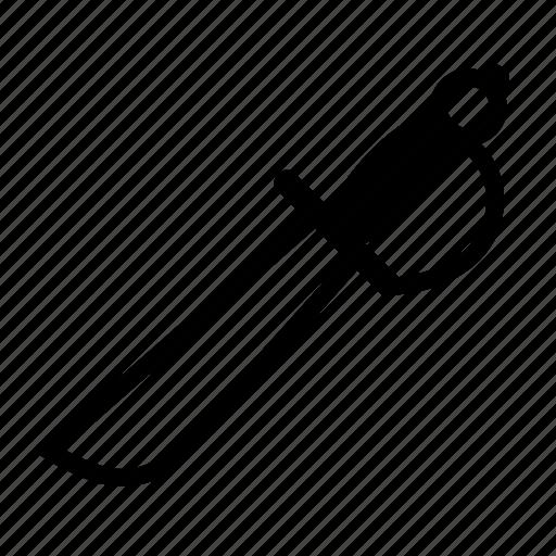 cutlass, pirate, pirates, sword, weapon icon