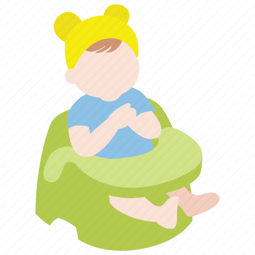 baby, booster, dining, infant, meal, seat, toddler icon