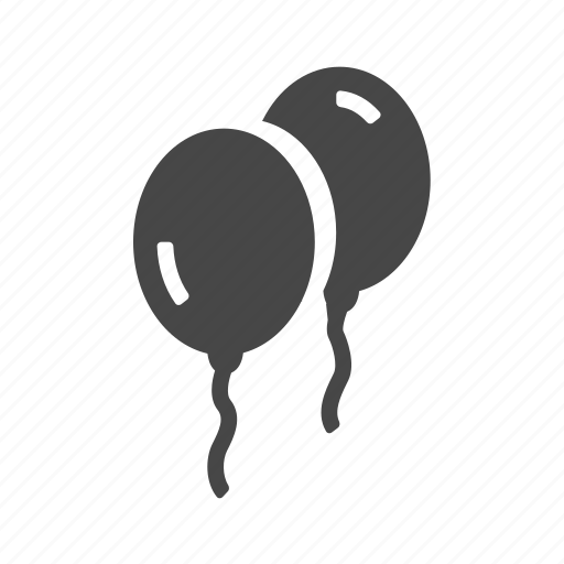 baby, balloon, birthday, celebration icon
