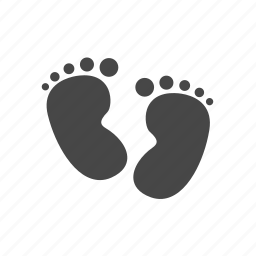baby, child, family, foot icon
