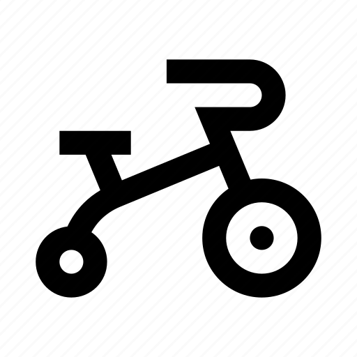bicycle, bike, toy, tricycle icon
