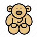 baby, bear, family, kid icon