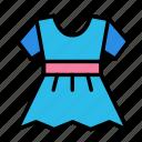 baby, dress, family, kid icon