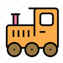 baby, family, kid, train icon