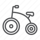 baby, bicycle, bike, child, kid, toy, tricycle icon