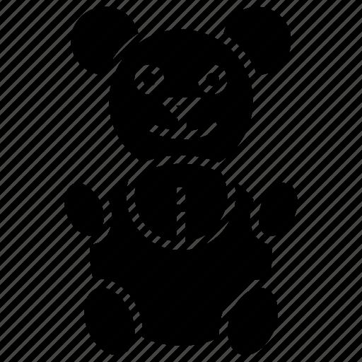 bear, stuff toy, stuffed bear, teddy bear, toy bear icon