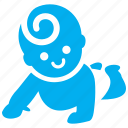 baby, child, clamber, climbing, kid, kiddie, toddler icon