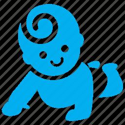 baby, child, clamber, climbing, kid, kiddie, toddler icon