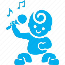 baby, child, kid, play, rhythm, shake, sound icon