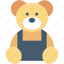 fluffy toy, teddy, teddy bear, teddy face, toy teddy icon